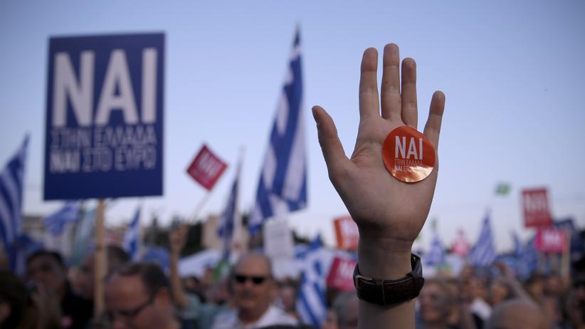 Griechenland: Varoufakis unterstellt Schäuble Grexit-Pläne