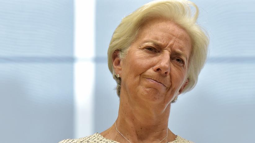 IWF-Chefin Christin Lagarde fordert Schuldenerleichterungen für Griechenland.