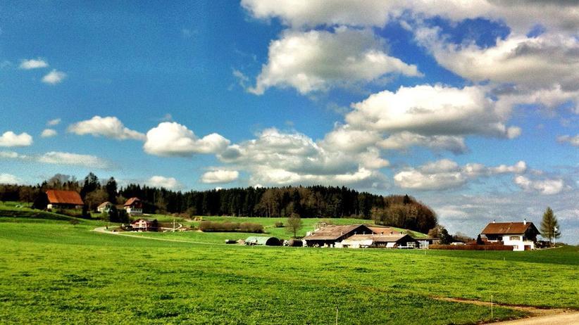 Landschaft im Kanton Aargau