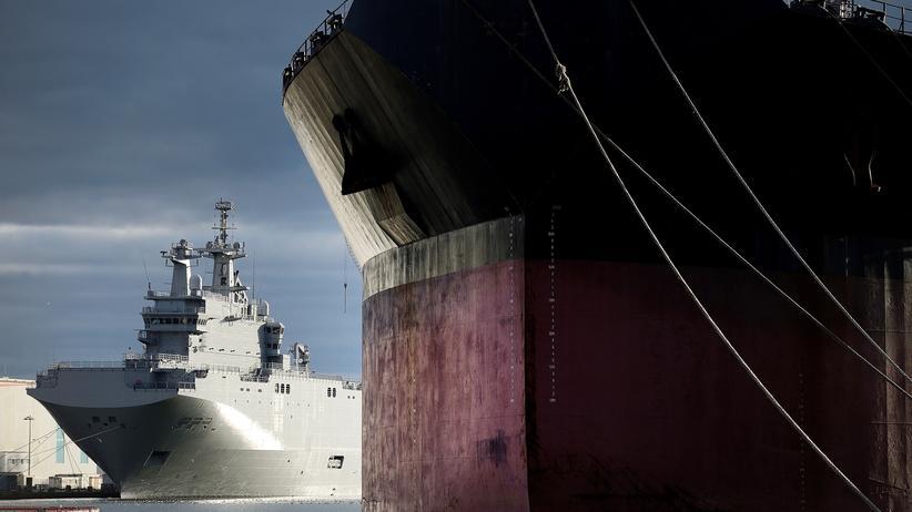 Ukraine-Krise: Russland und Frankreich beenden Streit um Kriegsschiffe