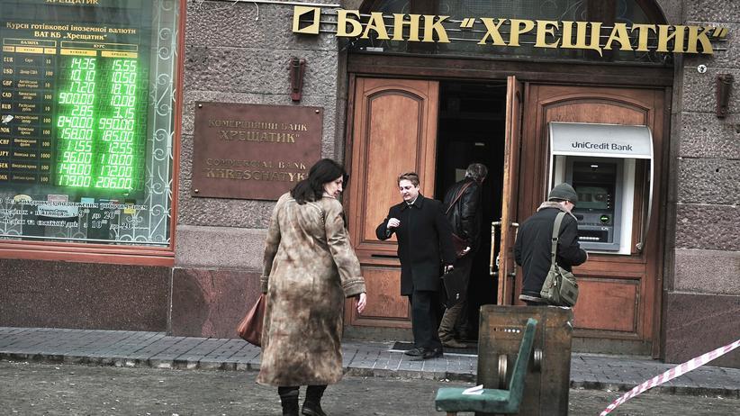 Ukraine Wirtschaft Schuldenerlaß