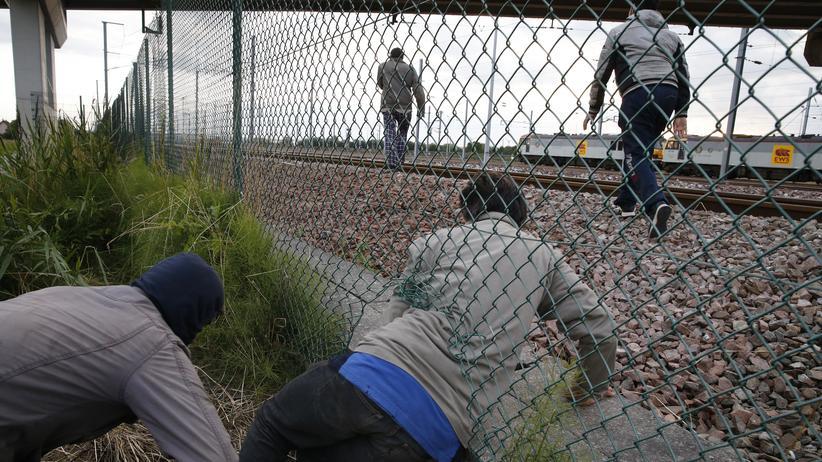 """Flüchtlinge: """"Nix Gepäck, nix Job"""""""