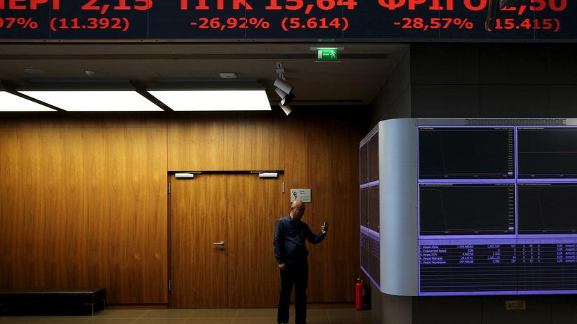 Griechenland Börse Krise Athen