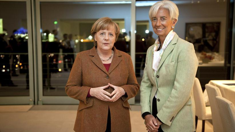 IWF: Kanzlerin Angela Merkel und IWF-Chefin Christine Lagarde im Juni 2012 in Berlin