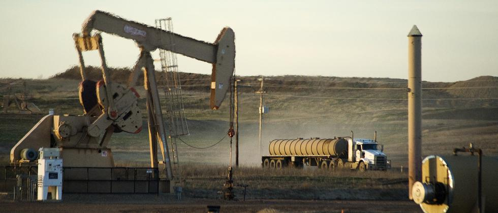 Noch laufen die Pumpen auf Hochtouren: Ölförderung im US-Bundesstaat North Dakota