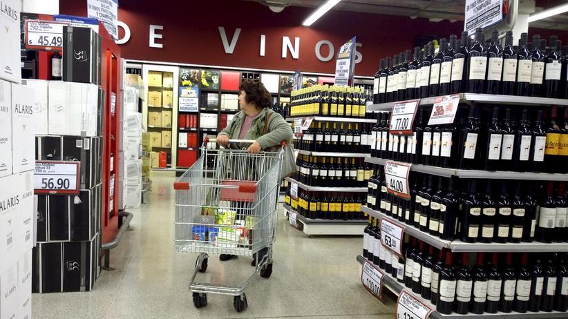 Mercosur: Supermarkt in Buenos Aires, Argentinien