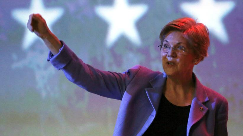 Was bewegt Elizabeth Warren?: Schrecken der Großbanken
