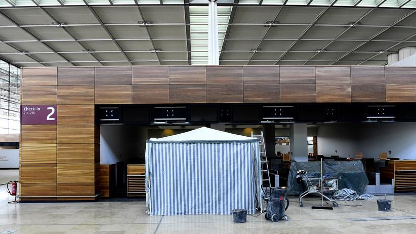 BER Flughafen Hauptstadtflughafen Berlin