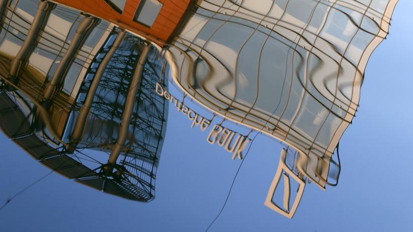 Das Gebäude der Deutschen Bank in Moskau