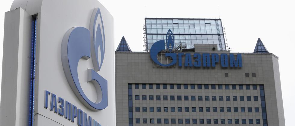 Die Gazprom-Konzernzentrale in Moskau