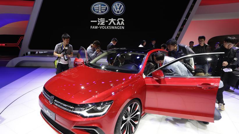 Mobilitaet, Volkswagen, China, Volkswagen, Autoindustrie