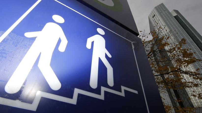 Deutsche Bank: Die Deutsche Bank in Frankfurt