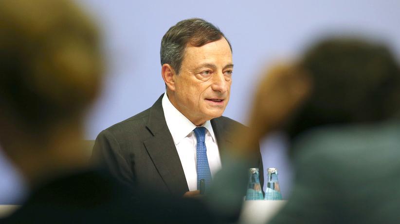 Wirtschaft, Mario Draghi, Europäische Zentralbank, Zinsen, Geldpolitik