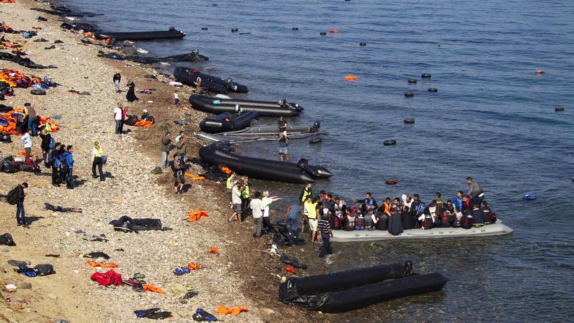 Wirtschaft, Flüchtlingslager, Asyl, Griechenland, Italien, Flüchtling