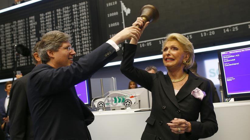 Börsengang: Schaeffler-Aktien starten über Ausgabepreis