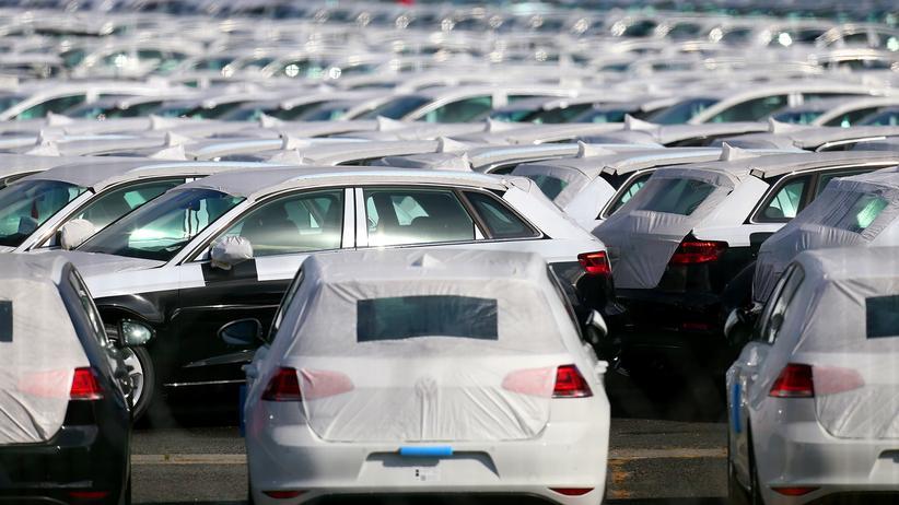 Volkswagen: Das französische Logistikzentrum von VW in Villers-Cotterêts