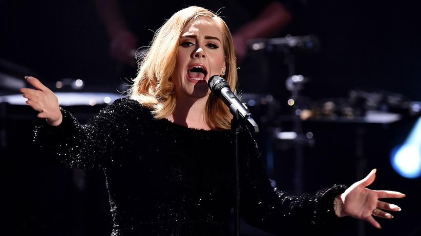 Musik-Stream: Adele im Dezember 2015 in Köln
