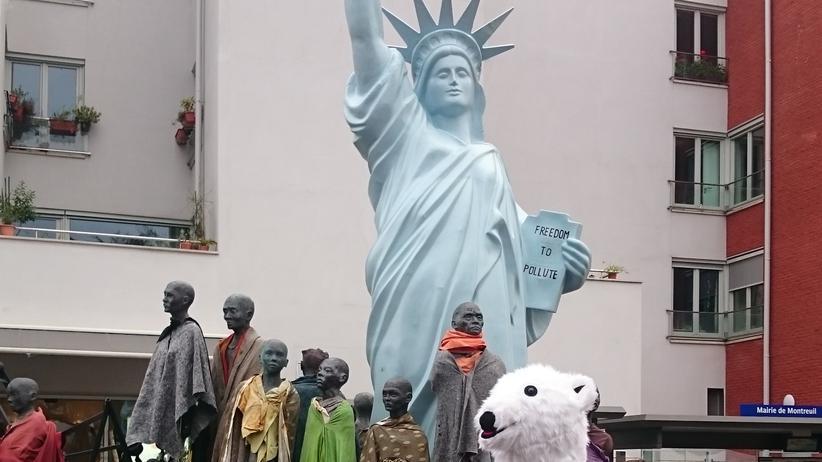 Symbol für den American Way of Life: Eine Freiheitsstatue in Montreuil bei Paris