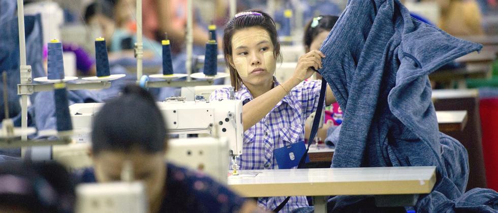 Myanmar Textilindustrie