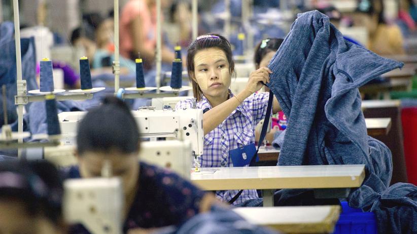 Wirtschaft, Textilindustrie, Myanmar, Textilindustrie, Mindestlohn, Arbeitszeit, Bangladesch