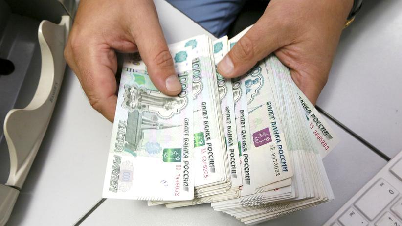 Für einen Euro werden inzwischen 79,55 Rubel fällig.
