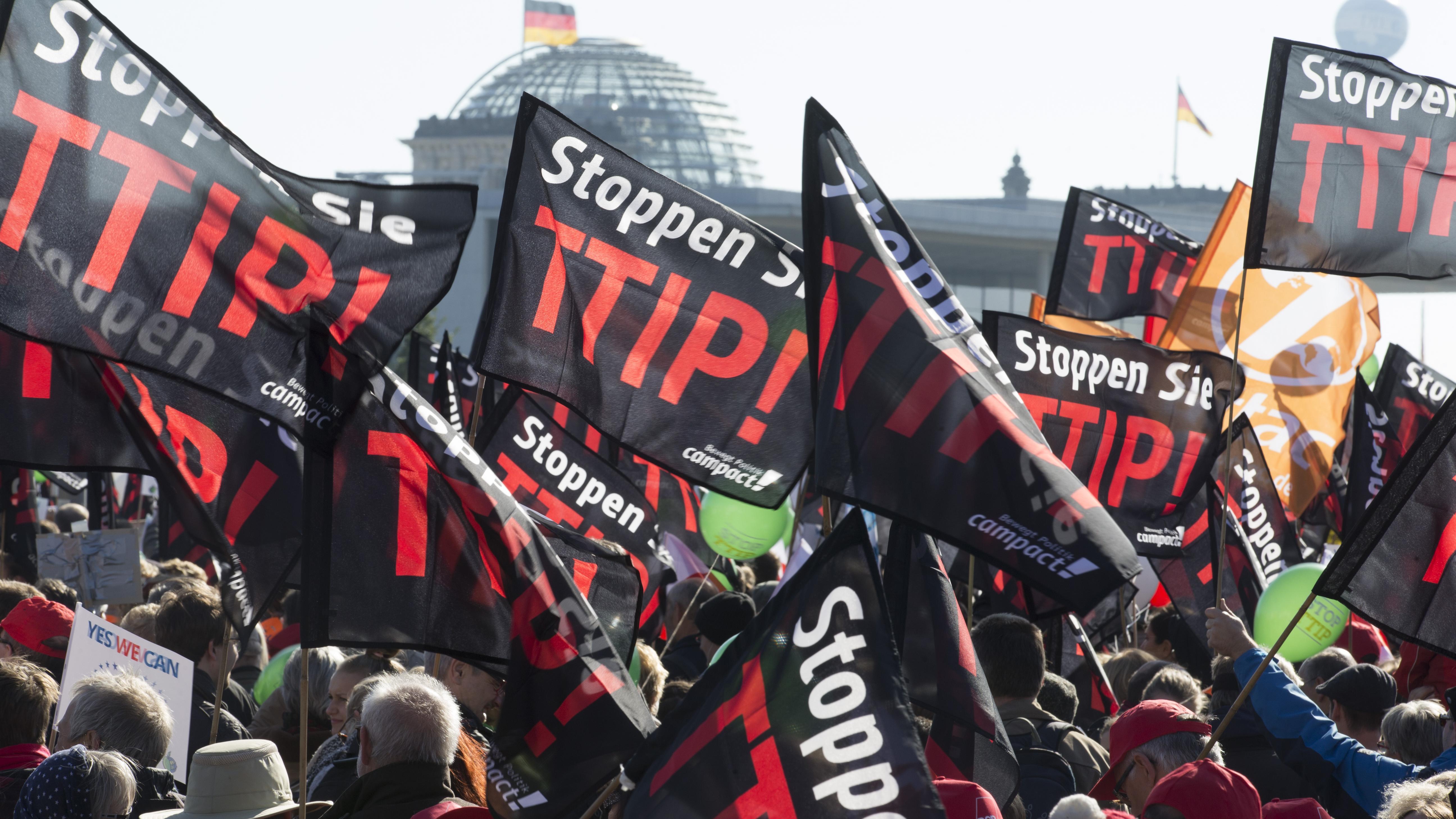 Aufklärung über TTIP
