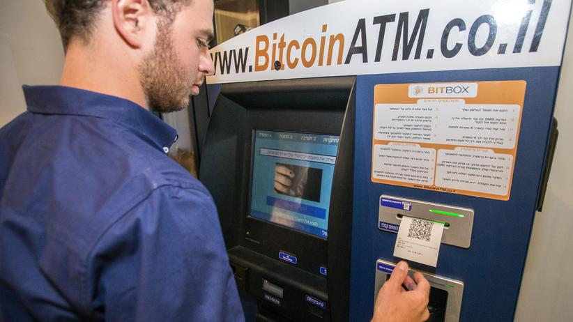 Blockchain: Ein Bitcoin-Geldautomat in Tel Aviv