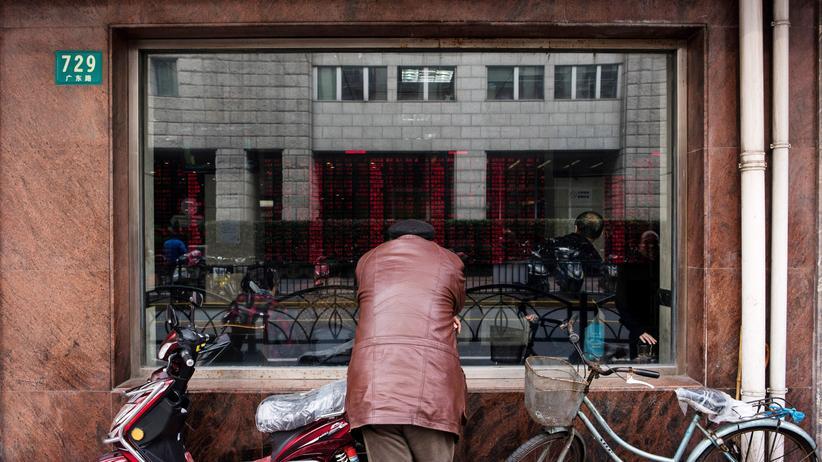 Marktwirtschaft: Der riesige Boom in China scheint vorerst beendet.