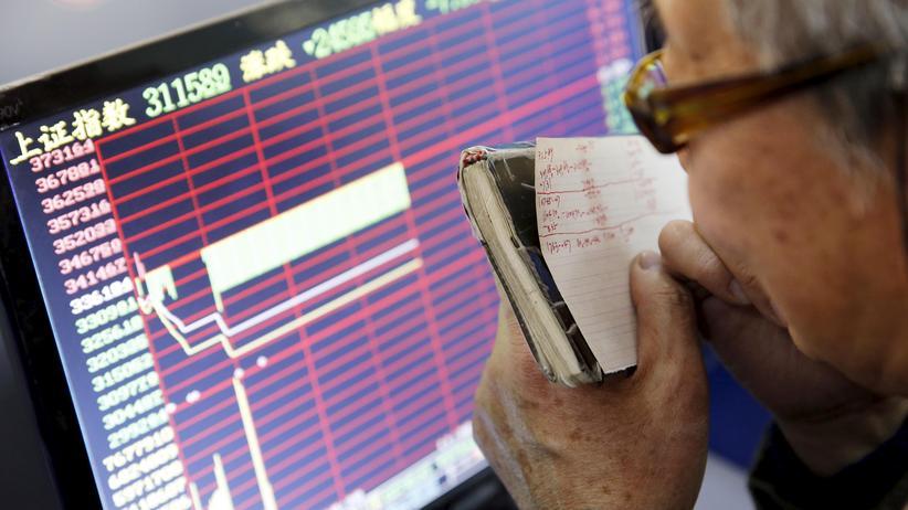 China: In China besitzen immer mehr Menschen Aktien.