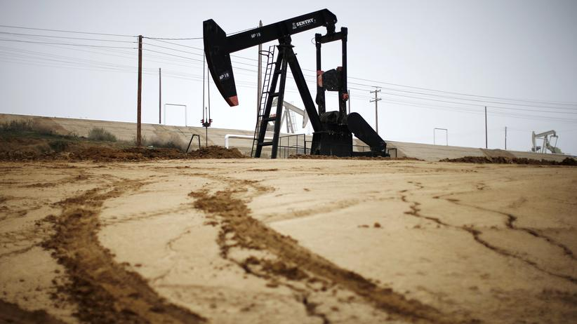 Ölpreis: Eine Ölpumpe in Kalifornien, USA
