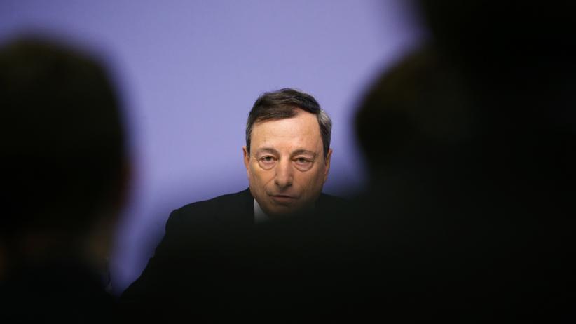 Europäische Zentralbank: Der Chef der Europäischen Zentralbank, Mario Draghi