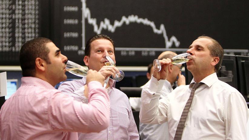 Geld anlegen: Jahresabschluss an der Frankfurter Börse