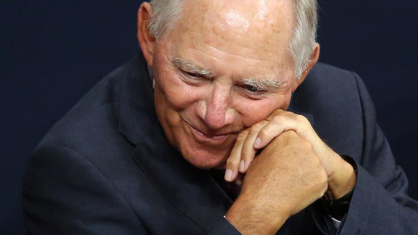 Bundesfinanzministerium: Finanzminister Wolfgang Schäuble (CDU)