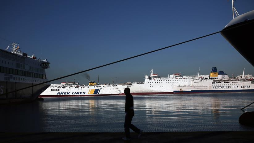 Privatisierung: Der Hafen von Piräus gehört zu den größten des Mittelmeers.