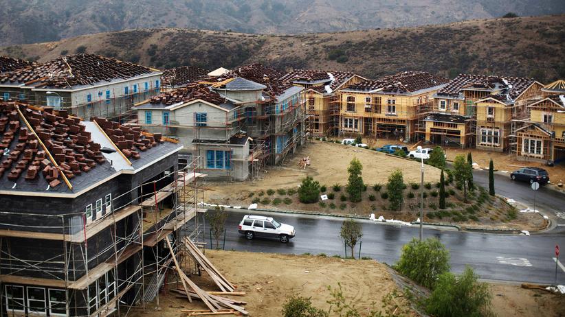 Kalifornien: Der Ort Porter Ranch in der Region San Fernando Valley bei Los Angeles