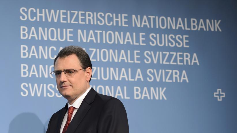 Schweizerische Nationalbank: Finger weg!