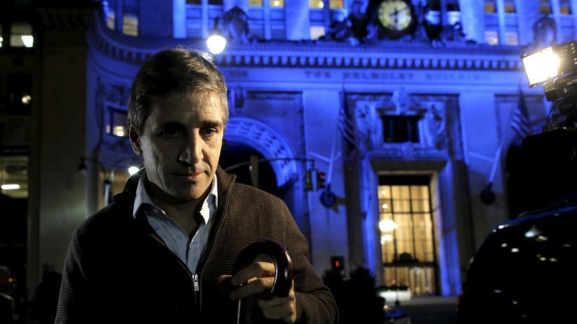 Schuldenstreit: Argentiniens Finanzminister Luis Caputo nach den Verhandlungen mit den Gläubigern am 5. Februar 2016