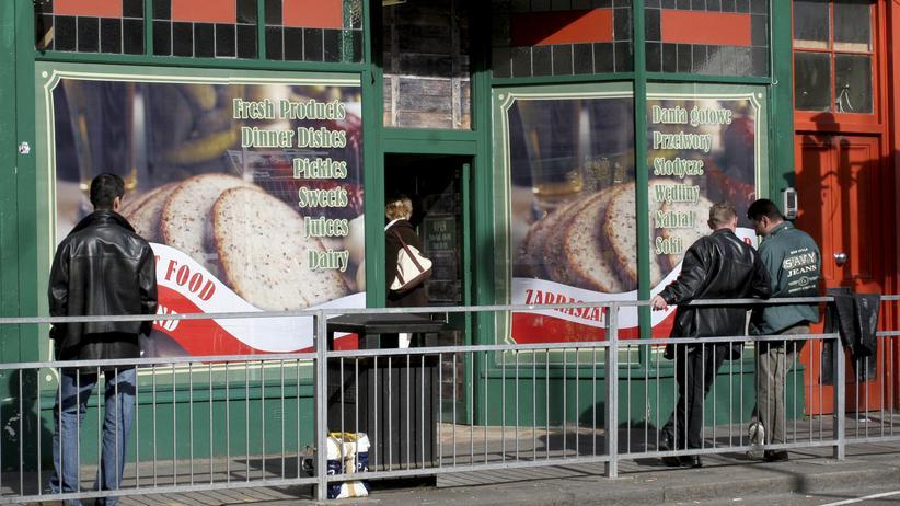 Ein polnischer Delikatessenladen in London