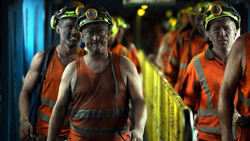 Rohstoffe: Kohlearbeiter in Yorkshire, England: Der Kohlepreis ist so niedrig wie schon lange nicht mehr