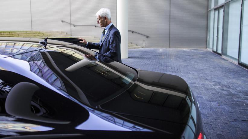 Volkswagen: Volkswagen-Chef Matthias Müller in Wolfsburg
