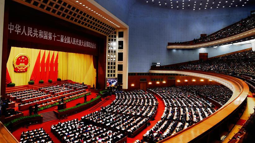 Rund 3.000 Delegierte tagen auf dem Volkskongress.