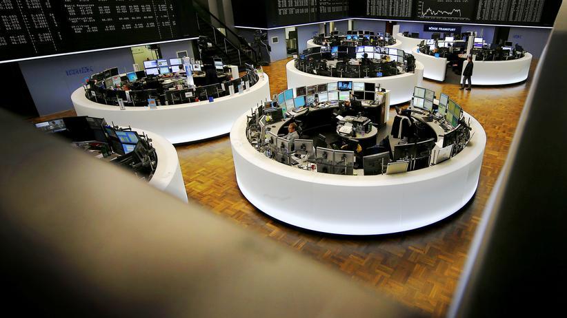 Die Börse in Frankfurt