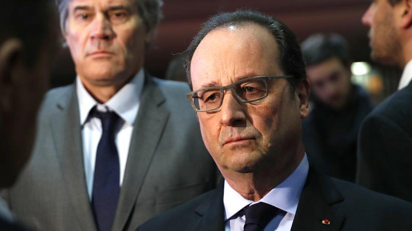 Frankreich: Frankreichs Präsident François Hollande am vergangenen Samstag auf der Landwirtschaftsmesse in Paris