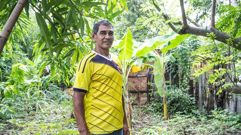 Kohleförderung: Ovidio Orozco in seinem Dorf Boquerón unweit der von Drummond betriebenen Mine
