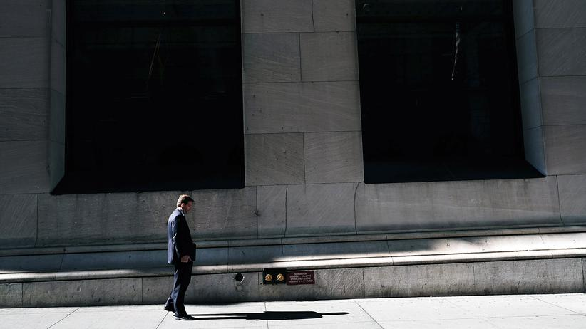 Wirtschaftswachstum: Die Wall Street ist Sitz der weltgrößten Wertpapierbörse, der New York Stock Exchange.