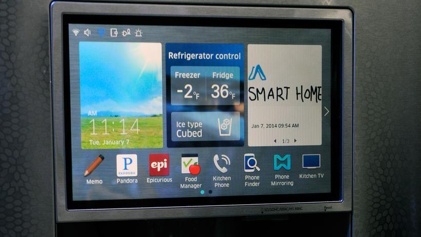 Internet der Dinge: Intelligente Kühlschränke erkennen die Wünsche und Bedürfnisse der Menschen.