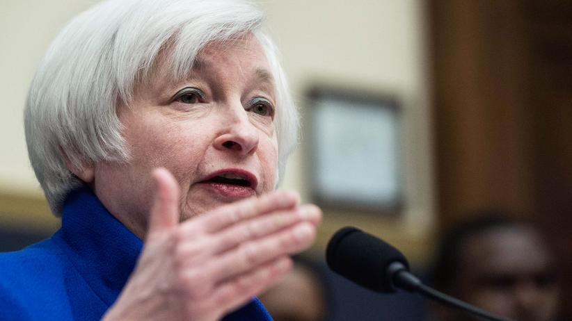 Geldpolitik: Janet Yellen, Chefin der US-Notenbank Federal Reserve