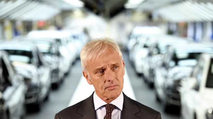 Volkswagen: VW-Chef Matthias Müller in Wolfsburg (Archivbild)