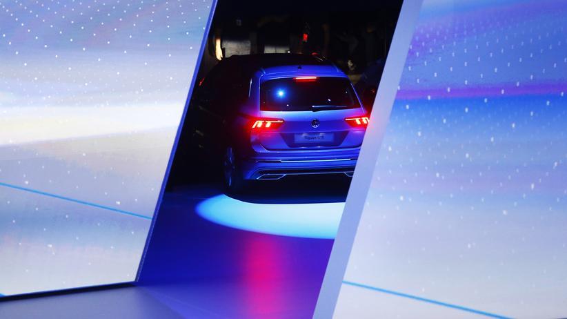 Volkswagen: Ein Auto der Marke VW bei der Internationalen Automobil-Ausstellung