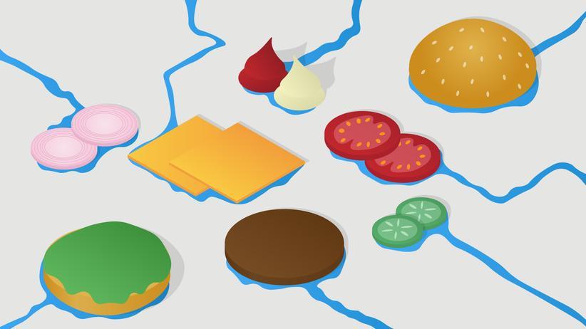 Wasserverbrauch: Wie viel Wasser steckt im Burger?